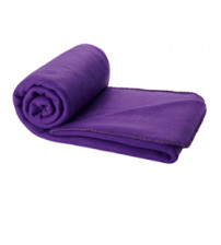 Плед в чехле 'Huggy', пурпурный