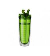 Бутылка 'Sippe', зеленый прозрачный