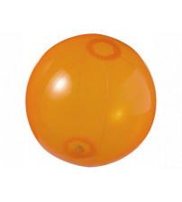 Мяч пляжный 'Ibiza', оранжевый прозрачный