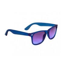Очки солнцезащитные 'Sun Ray' с прозрачными линзами, ярко-синий