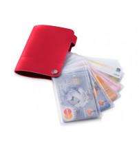 Бумажник 'Valencia', красный