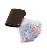 Бумажник 'Valencia', коричневый