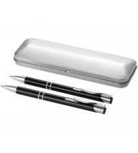 Набор 'Dublin': ручка шариковая, карандаш механический, черный
