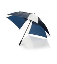 Зонт трость 'Helen', механический 30', синий/белый