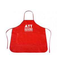 Фартук 'Cocina' с карманом, красный