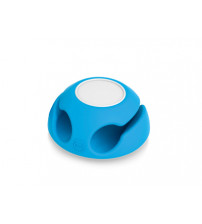 Подставка для кабеля 'Clippi', голубой