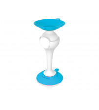 Подставка для мобильного телефона 'Dolli', голубой/белый