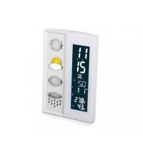 Погодная станция: часы, дата, гигрометр, термометр с подсветкой