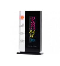 Погодная станция: часы, дата, термометр с подсветкой