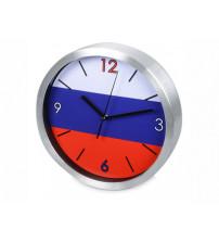 Часы настенные 'Российский флаг'