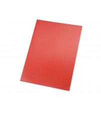 Папка- уголок, для формата А4 (220х305 мм), плотность 180 мкм, красная