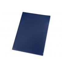 Папка- уголок, для формата А4 (220х305 мм), плотность 180 мкм, синяя