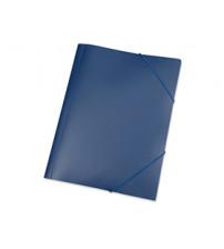 Папка A4 с резинкой 0.45 мм, синий