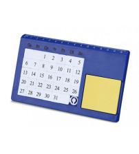 Календарь вечный 'Плано' настольный, синий