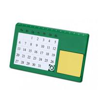 Календарь вечный 'Плано' настольный, зеленый