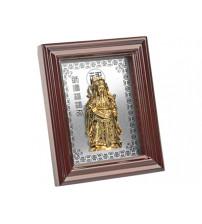 Декоративное панно. Звездный старец Лусин является символом богатства, изобилия, достойных наследников и продолжения рода. Также это божество символизирует семейный авторитет, поэтому его изображают держащим в руках скипетр и свиток - символы силы и
