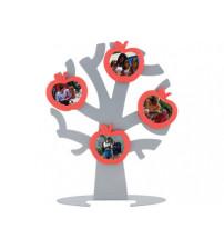Генеалогическое дерево «Моя семья» с 4 рамками для фотографий