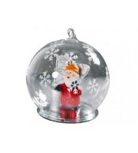Новогодний шар с Дедом Морозом — нефтяником