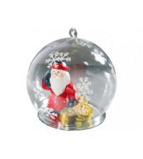 Новогодний шар с Дедом Морозом — банкиром