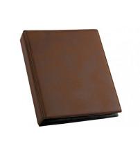 Визитница на 96 визиток, коричневый