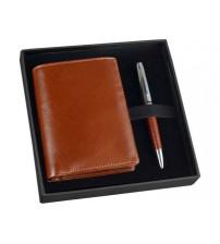 Набор William Lloyd : портмоне, ручка шариковая