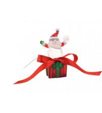 Cветильник «Санта Клаус». При подключении к USB плавно меняет цвета