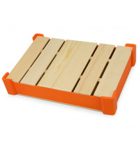 Коробка под ежедневник, оранжевый