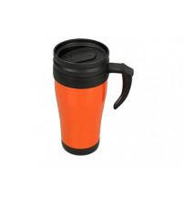 Кружка с термоизоляцией 'Silence' 350мл, оранжевый