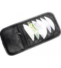 СD-холдер автомобильный на 12 CD с отделением на молнии