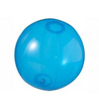 Мяч пляжный 'Ibiza', синий прозрачный