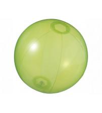 Мяч пляжный 'Ibiza', зеленый прозрачный