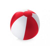Пляжный мяч 'Palma', красный/белый