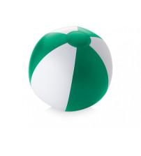 Пляжный мяч 'Palma', зеленый/белый