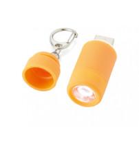 Мини-фонарь 'Avior' с зарядкой от USB, оранжевый