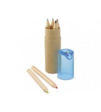 Набор из 6 карандашей с точилкой