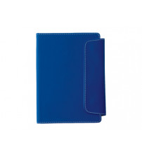 Блокнот A5 'Horsens' с шариковой ручкой-стилусом, синий