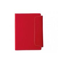 Блокнот A5 'Horsens' с шариковой ручкой-стилусом, красный