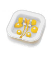 Наушники супер легкие 'Sargas', желтый