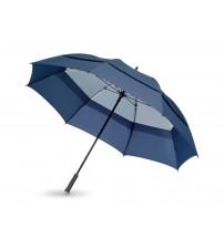 Зонт трость 'Cardiff', механический 30', синий