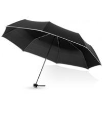 Зонт складной 'Линц', механический 21', черный