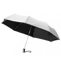 Зонт 'Калдроуз', автоматический 21,5', серебристый/черный