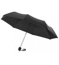 Зонт складной 'Bernard', механический 21,5', черный