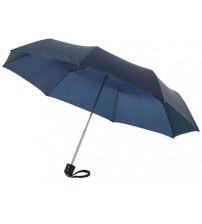 Зонт складной 'Bernard', механический 21,5', темно-синий