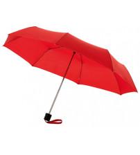 Зонт складной 'Bernard', механический 21,5', красный