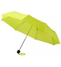 Зонт складной 'Bernard', механический 21,5', зеленое яблоко