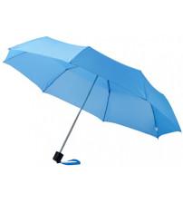 Зонт складной 'Bernard', механический 21,5', голубой