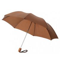 Зонт складной 'Nicea', механический 20', коричневый