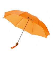 Зонт складной 'Nicea', механический 20', оранжевый