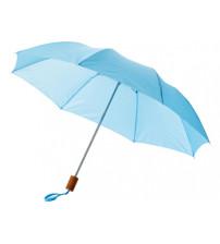 Зонт складной 'Nicea', механический 20', голубой