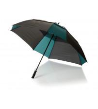 Зонт трость 'Helen', механический 30', черный/темно-зеленый